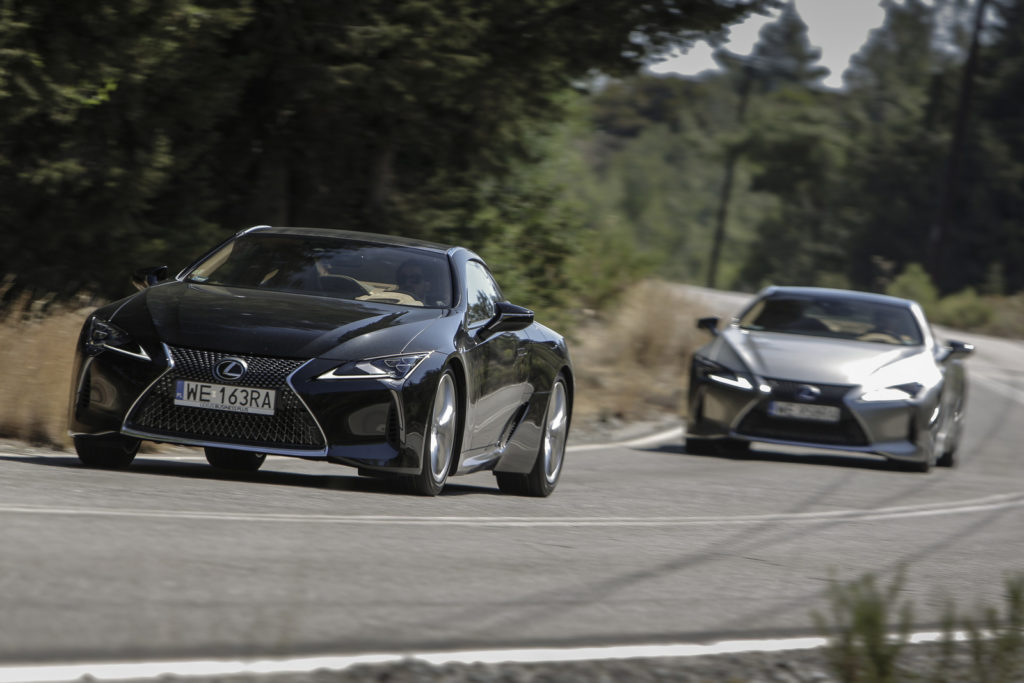 Lexus LC500 opinia