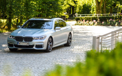 BMW 750 long test opinia 11