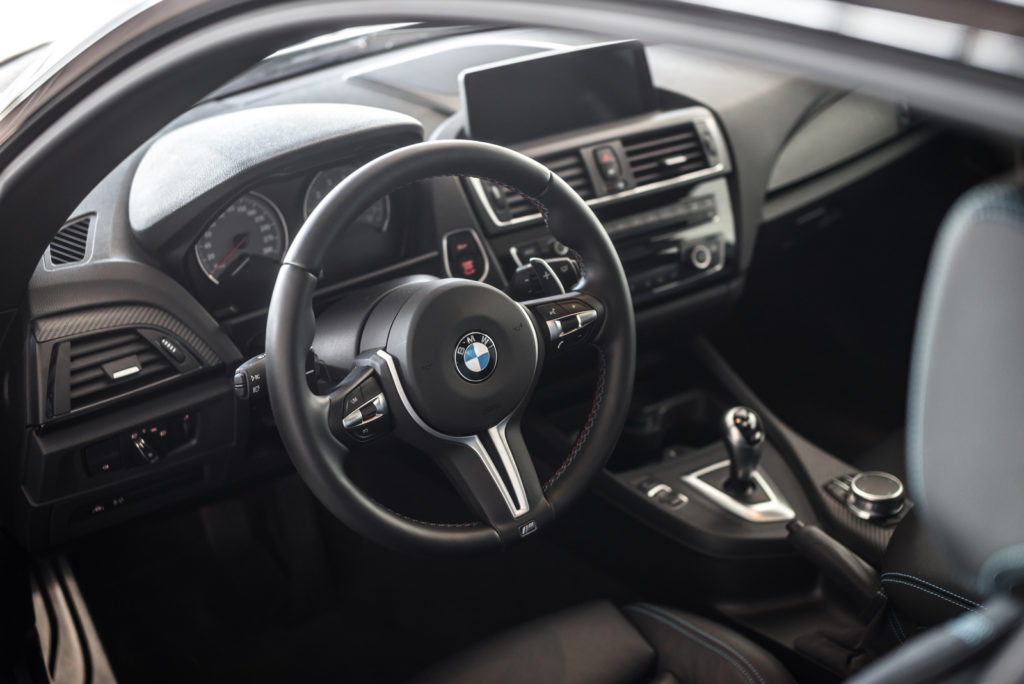 BMW M2 wnętrze test