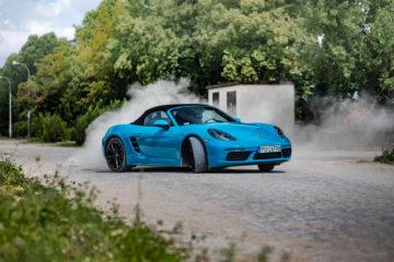 Porsche 718 Boxster test opinia 15