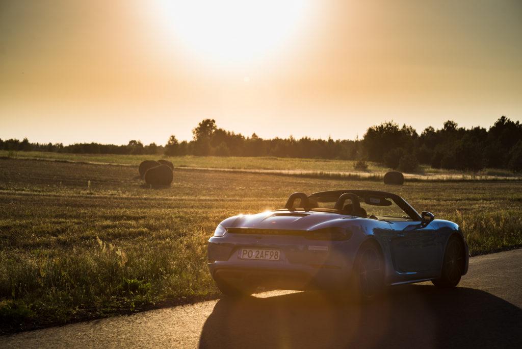 Porsche 718 Boxster test opinia 2