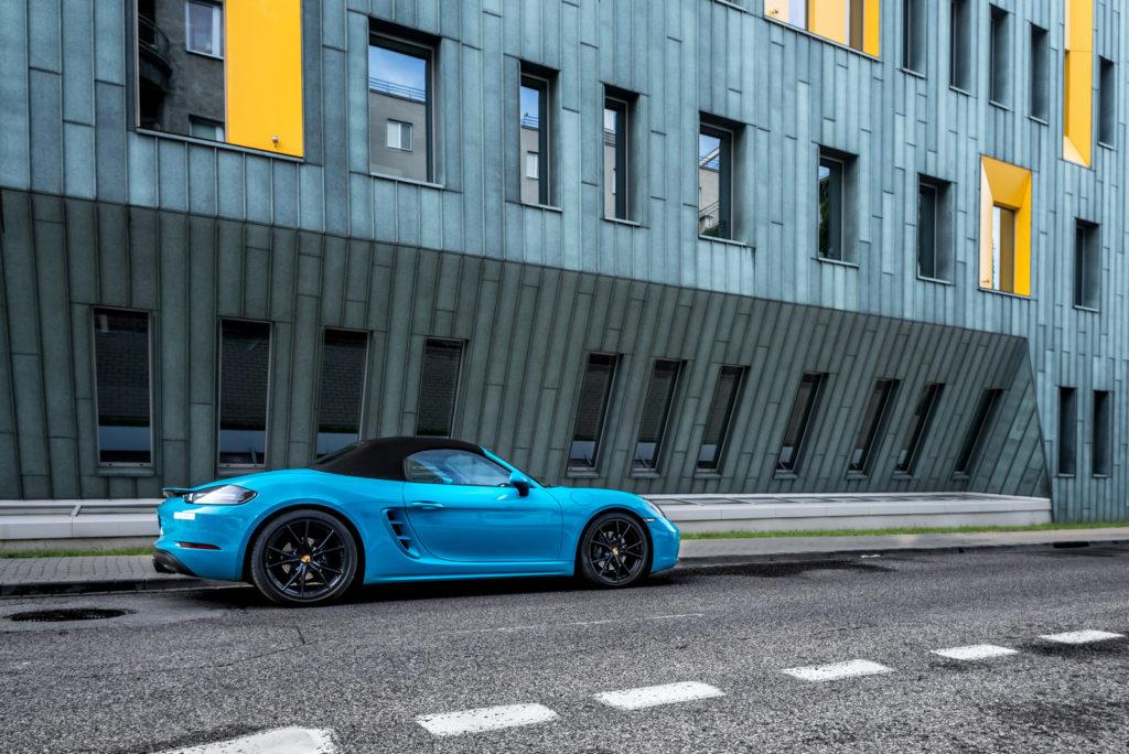 Porsche 718 Boxster test opinia 36