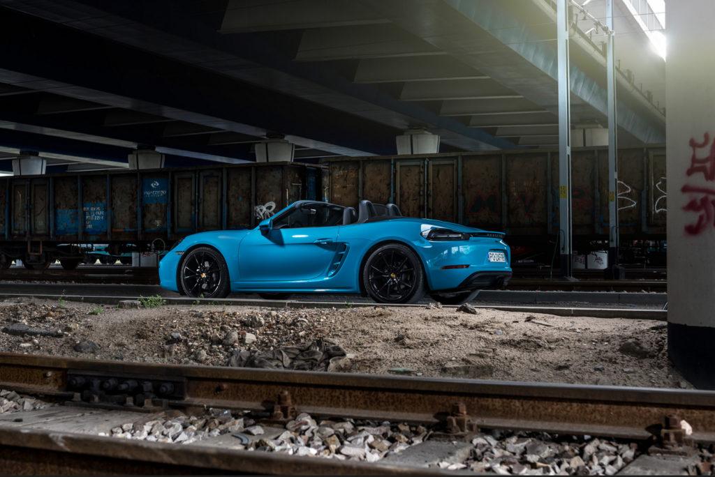 Porsche 718 Boxster test opinia 46