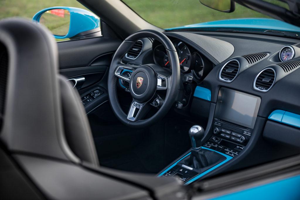 Porsche 718 Boxster test opinia 5
