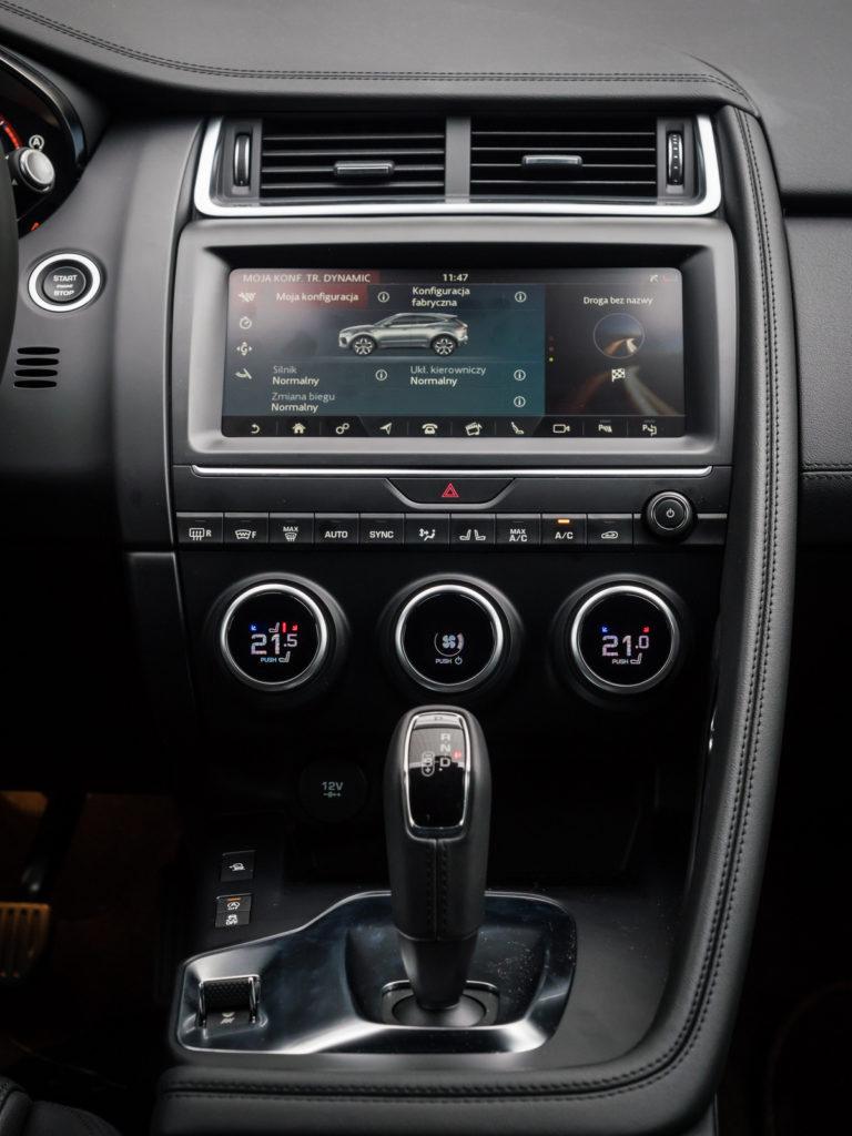 jaguar e-pace test opinia dane 24 - multimedia