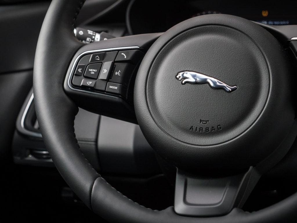 Jaguar E-Pace S opinia kierownica
