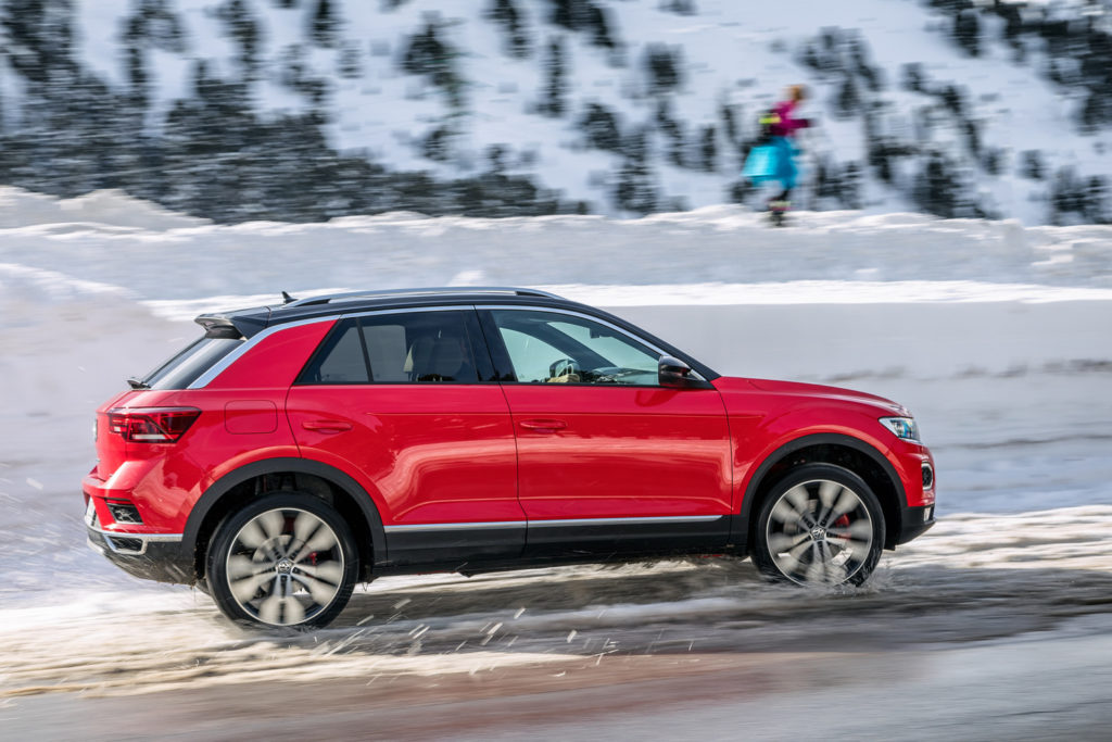 Volkswagen t-roc premium test