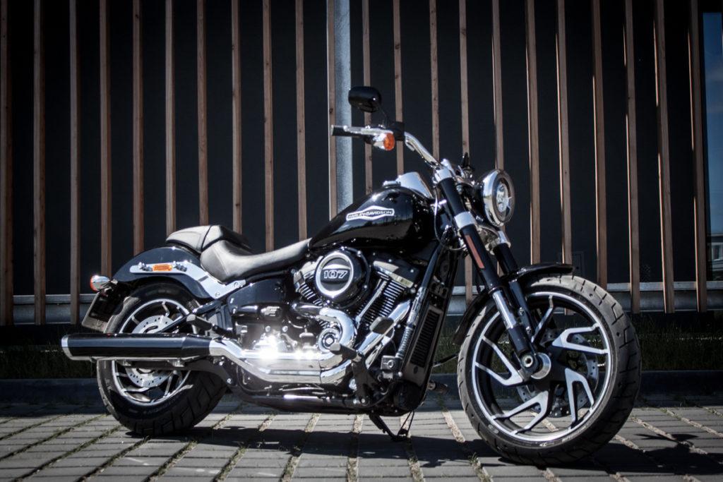 Harley Sport Glide test opinia
