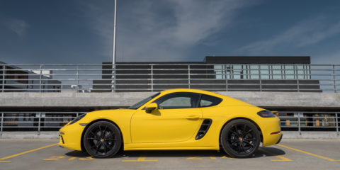 prosche 718 cayman test opinia