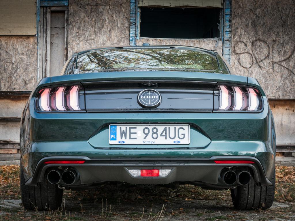 Ford Mustang Bullitt 2018 test i opinia