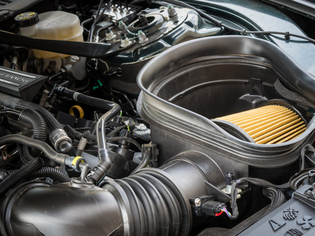 Ford Mustang Bullitt 2018 test i opinia silnik