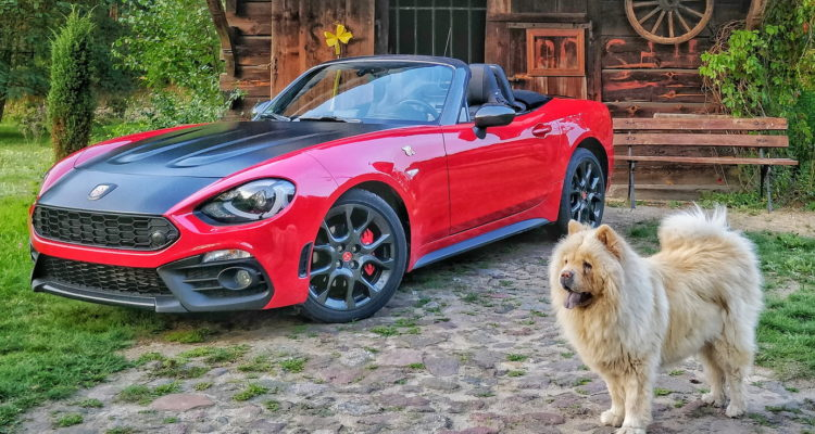 abarth 124 spider test opinia 1a