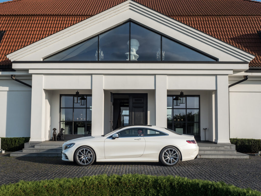 mercedes s coupe W222 4matic test opinia 8