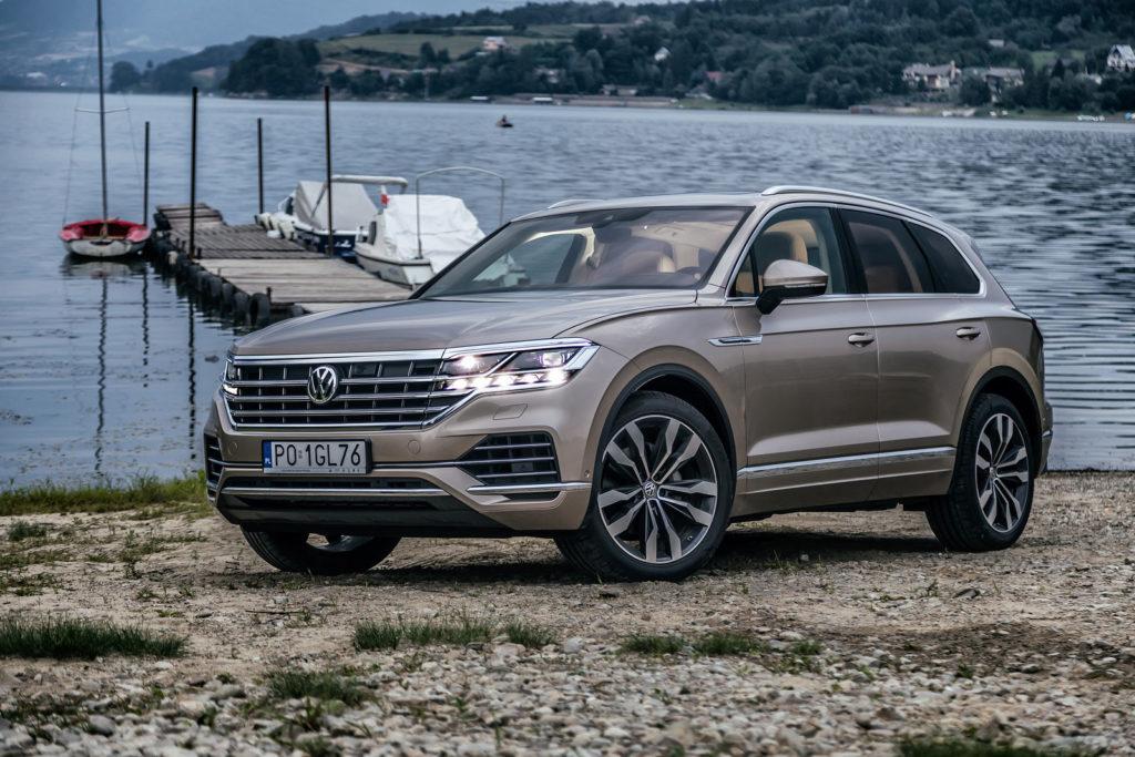 nowy Volkswagen Touareg 2019 opinia i test