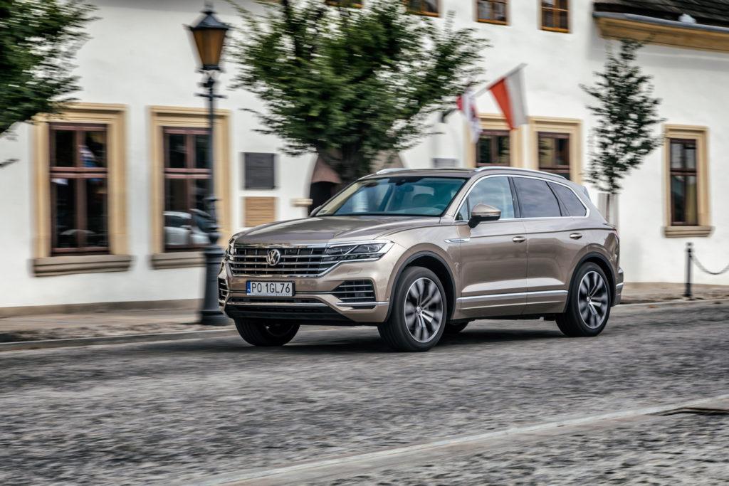 nowy Volkswagen Touareg test opinia 2019 komfort