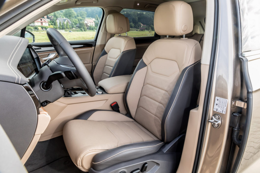 volkswagen Touareg test opinia 2019