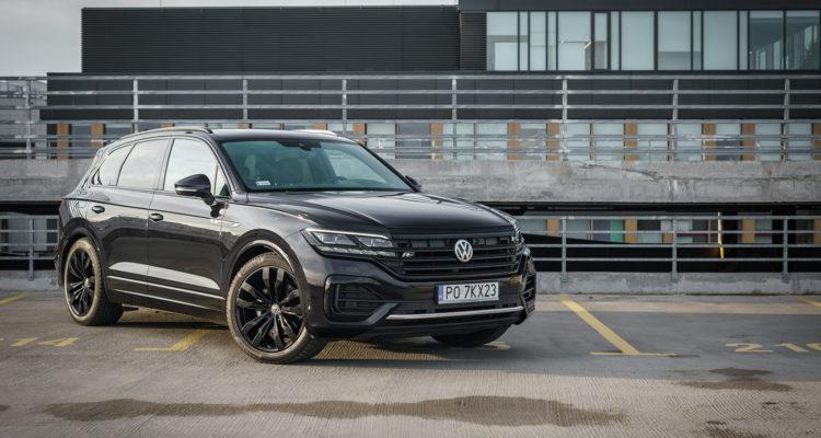 Volkswagen Touareg V6 Black Edition R line test 1