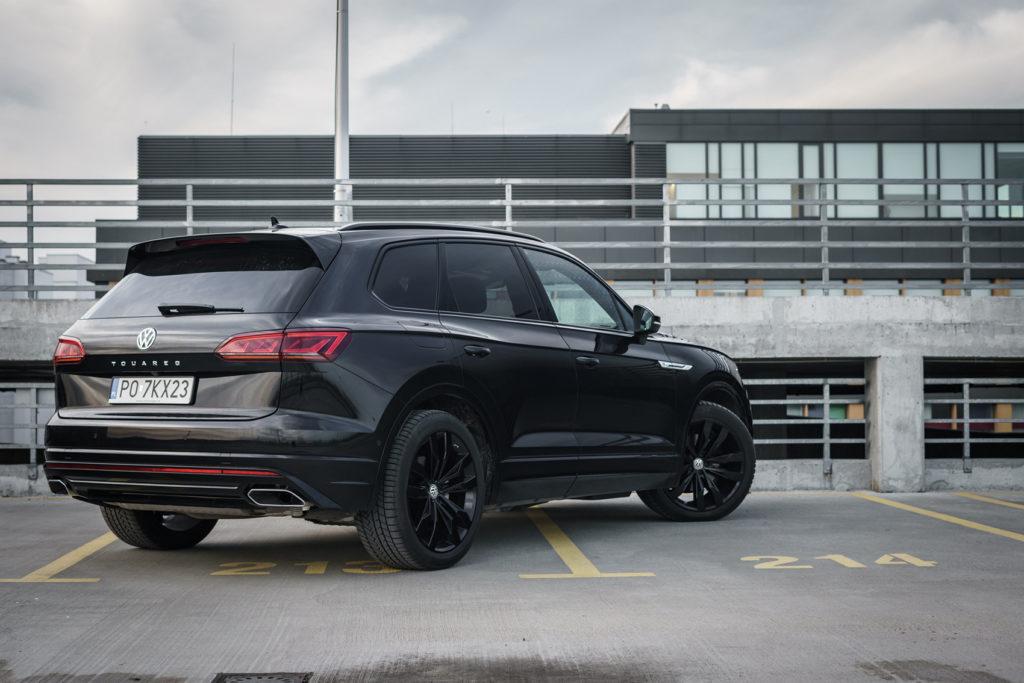 Volkswagen Touareg V6 Black Edition R line test 4