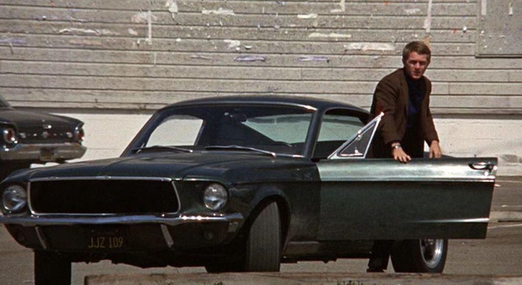 Ford Mustang i steve mcqueen