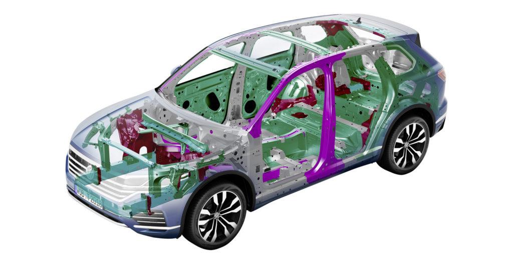 nowy volkswagen Touareg 2019 test opinia technika 12