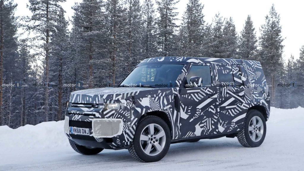 nowy land rover defender 2019 - nowsci motoryzacyjne 2019