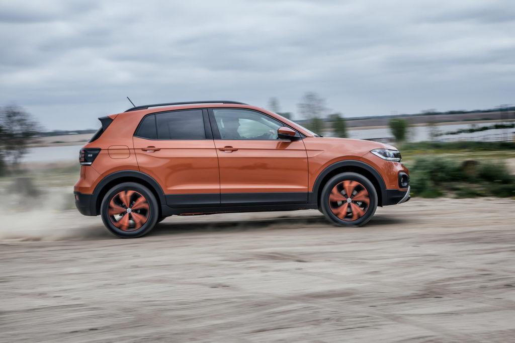 Volkswagen T-cross opinia test 11