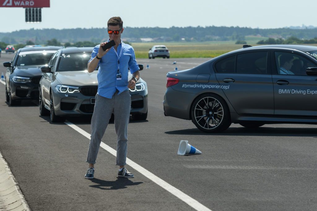 BMW intensive training - bmw driving experience silesia ring