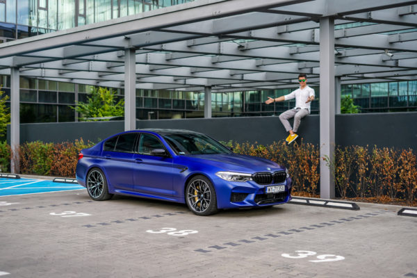 bmw m5 competition opinia test