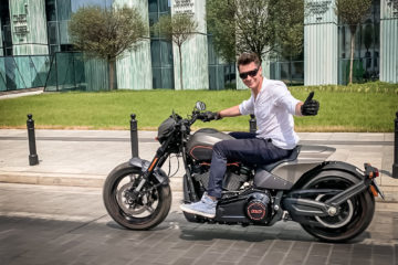 Harley-davidson fxdr test opinia