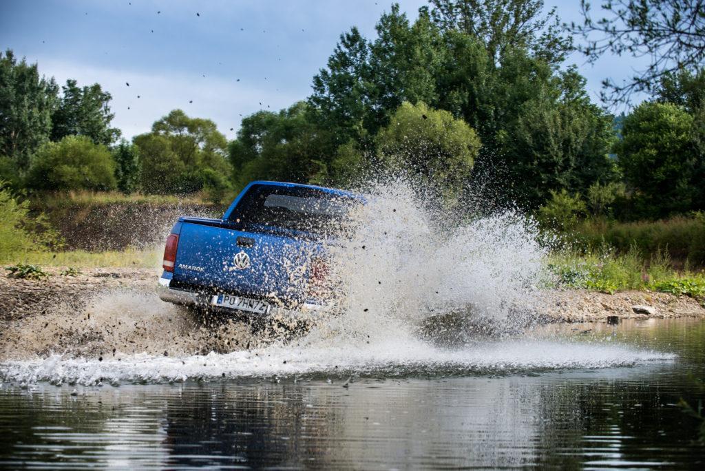 VW amarok V6 tdi test offroad 2019