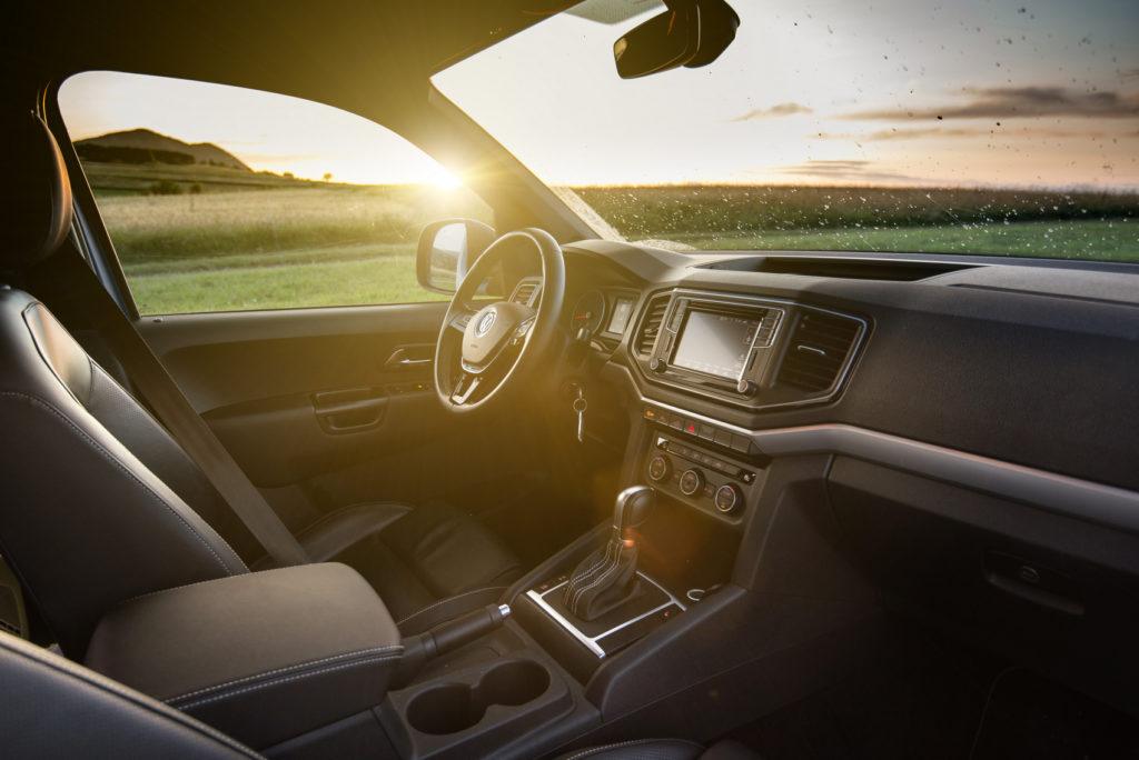 VW amarok V6 tdi test wnetrze 2019
