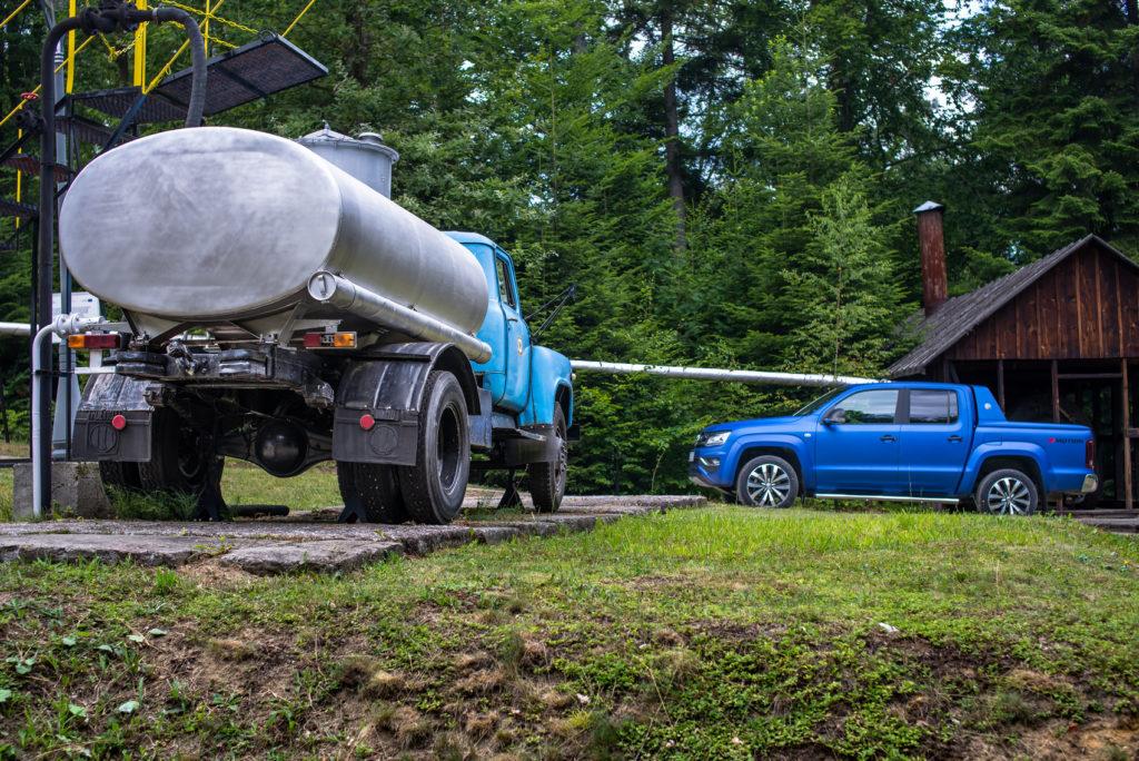 VW amarok v6 tdi aventrua w kopalni ropy naftowej