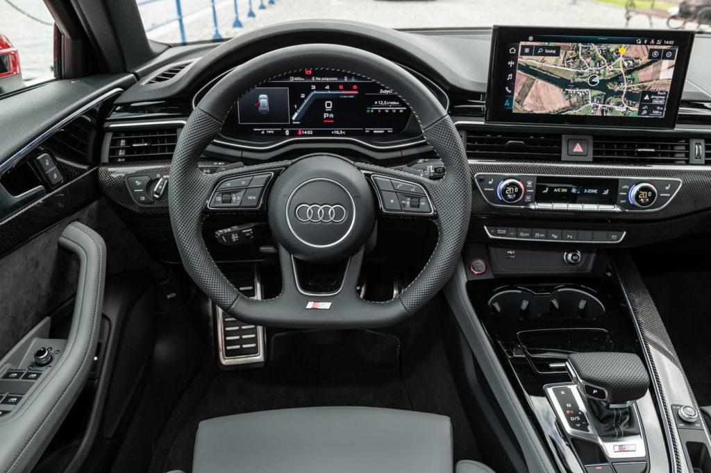 nowe audi A4 S4 2020 test opinia 15
