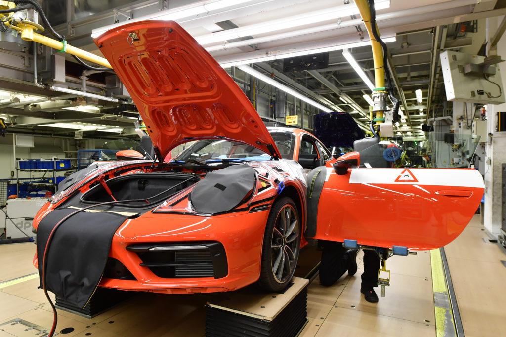 nowe Porsche 911 Exclusive - produkcja 52