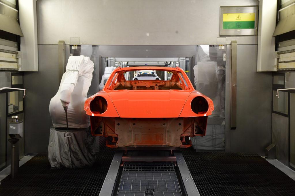 nowe Porsche 911 Exclusive - produkcja 71