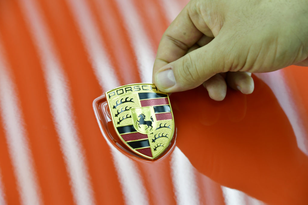 nowe Porsche 911 Exclusive - produkcja 74