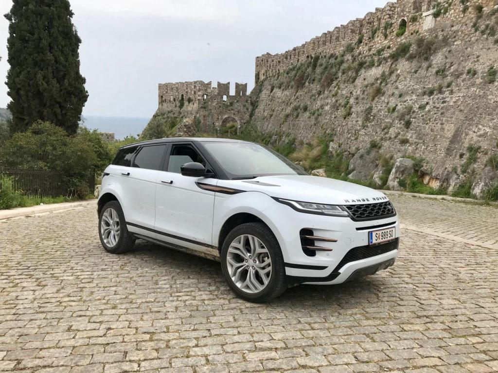 Range Rover evoque phev 2021