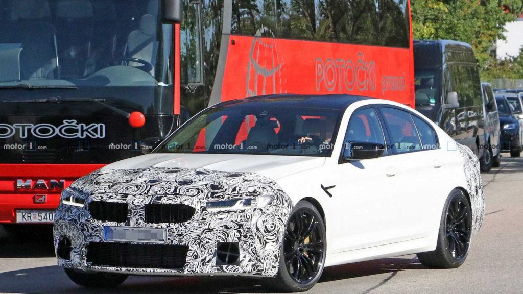 nowe BMW M5 facelifting 2020 | premiery samochodowe 2020