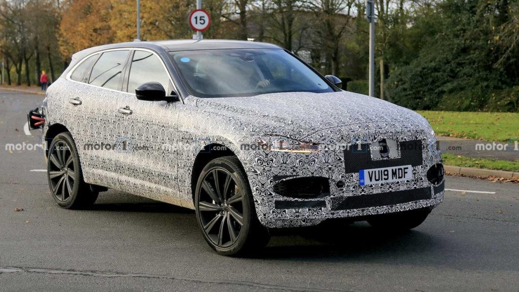 nowe samochody 2020 | Nowy Jaguar F-Pace facelift 2020