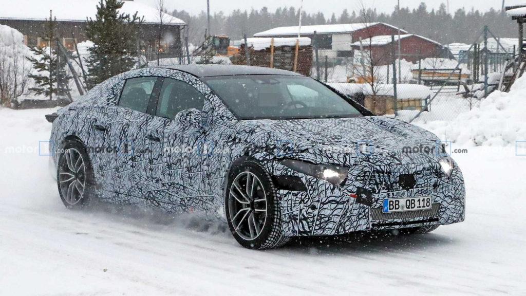 Nowe samochody 2020 | mercedes-eqs-spy-photo