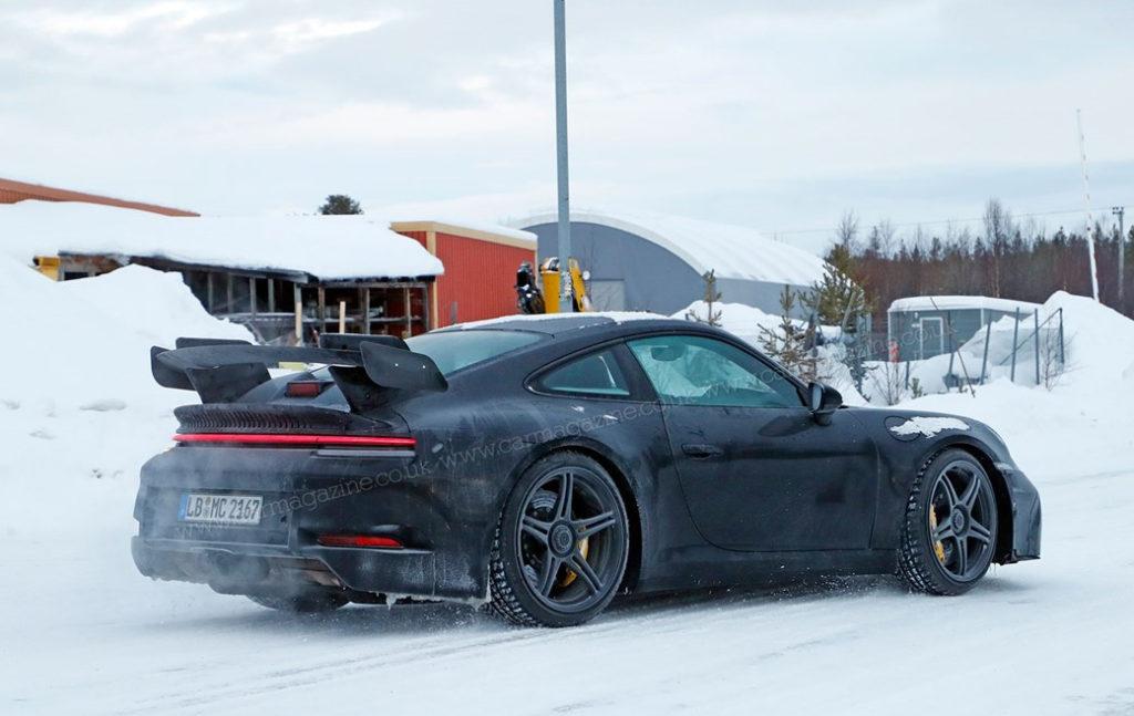 Nowe Porsche 911 GT3 992