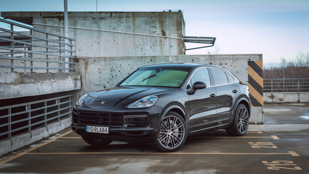 porsche cayenne coupe turbo test opinia spalanie 2