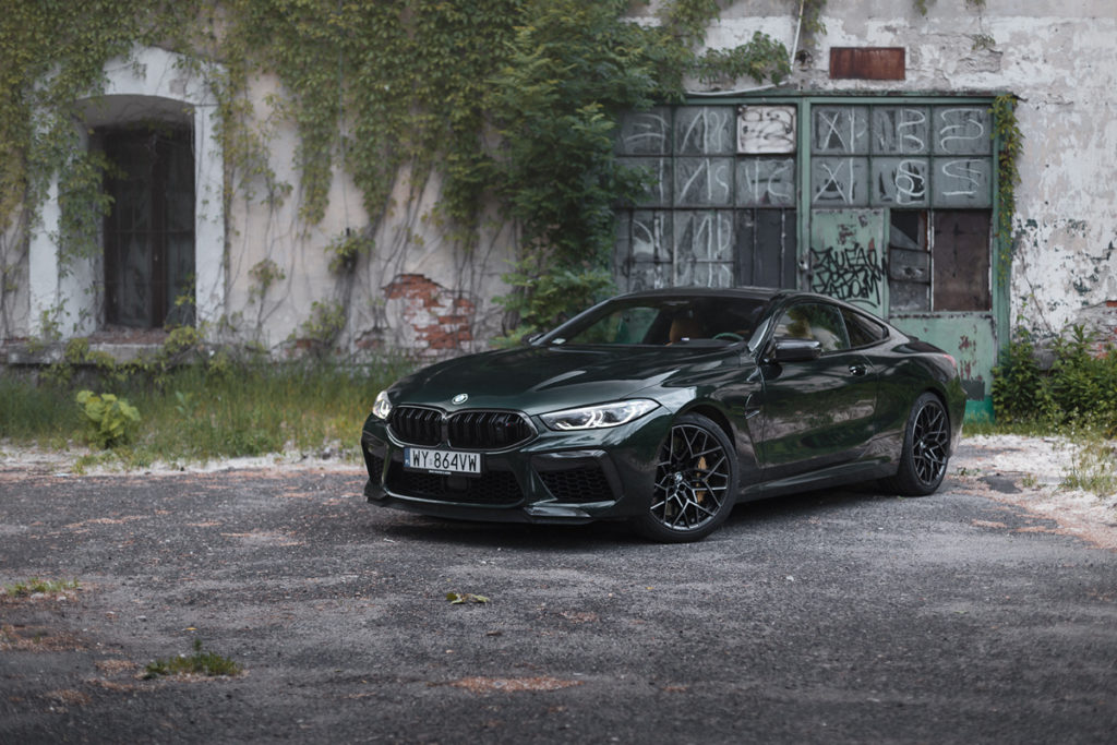 BMW M8 Competition test opinia wideo 1