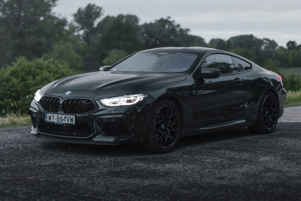 BMW M8 Competition test opinia wideo 32