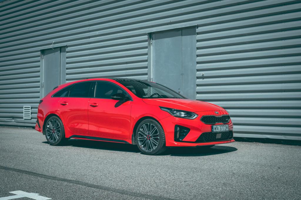 Kia Proceed GT test opinia 2