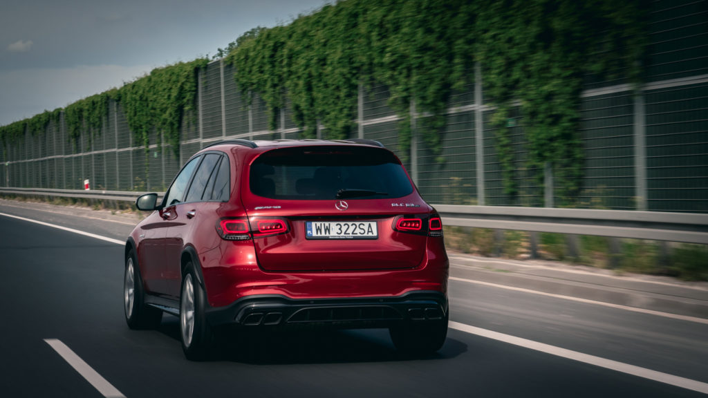 Mercedes-AMG GLC63S test opinia wideo 28