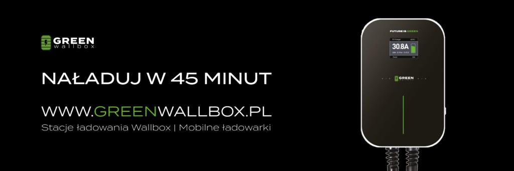 Green Wallbox - ładowarki PHEV
