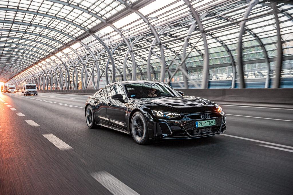 audi e-tron GT test opinia - 2
